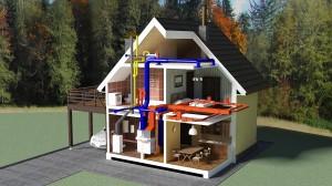 Электроотопление дома. Затраты на электроэнергию.