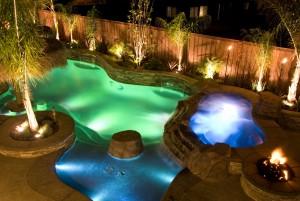 Светодиодные лампы для подсветки бассейнов
