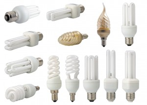 Виды бытовых лампочек